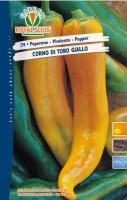peperone corno giallo